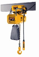 Electric Chain Hoists offer capacities from 1/8-20 tons.