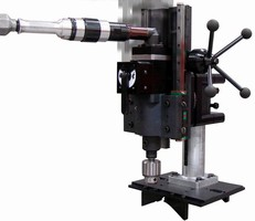 Multiple Axis Drill is suited for pipe applications.