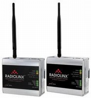 Industrial Radios are available in 900 MHz/2 4 GHz models