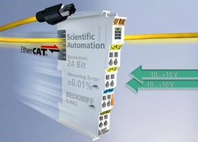 I/O Terminal enables high-precision scientific measurement.