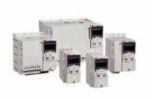 AC Drives are rated 15 hp at 240 V and 30 hp at 480 V.