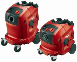 Vacuums help create dust- and dirt-free work environment.