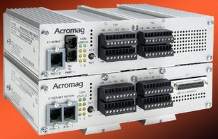 Ethernet I/O System offers 32-channel analog input units.