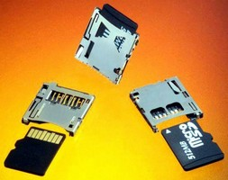 Card Connectors facilitate smooth microSD ejection.