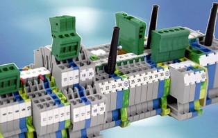 Spring Clamp Terminal Blocks accelerate wiring time.