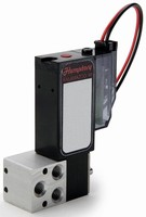 Direct-Acting Solenoid Valve is compatible with reagents.