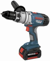 Cordless Drill/Drivers operate from 14.4 and 18 V batteries.