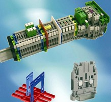Terminal Blocks are suitable for plug in circuit jumper.