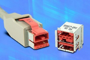 Cable Assemblies feature active latching on plugs.