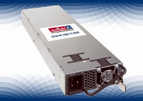 AC/DC Power Supplies deliver 1,200 or 1,600 W output power.