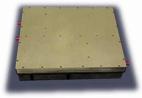 UHF Power Amplifier operates from 22-32 Vdc supply.