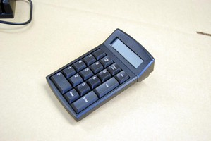 Numeric Keypad features 2 x 16 character LCD display.