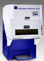 TRUMPF Showcases TruLaser Station 5004 with TruPulse 103 at IMTS 2008