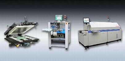 Turnkey Line enables flexible SMT assembly.