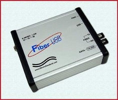 Fiber-to-USB Converters feature security/optical isolation.