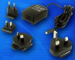 Interchangeable Plug Adapter has micro-USB output connector.