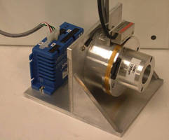 Integrated Motor System features 24 V brushless DC motor.