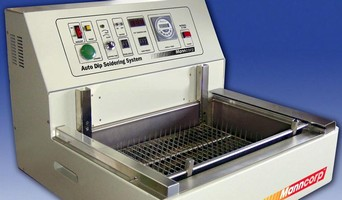 Manncorp's 'Auto-Dip' Lead-Free Mass Soldering Replaces Manual Methods