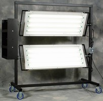 Industrial Inspection Lighting includes fixtures and carts.