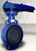PVC Butterfly Valve suits high-psi water applications.