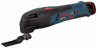 Cordless Tool handles cutting, sawing, and sanding tasks.