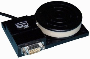 Piezo-Driven Rotary Stage features low-profile design.
