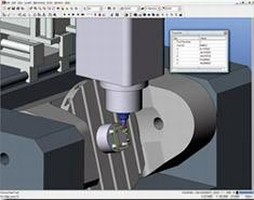 CAM Software offers simultaneous 5-axis machining.