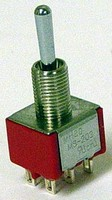 Miniature Toggle Switch has multifunctional design.