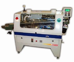 Wave Solder Machine handles boards up to 10 in. wide.