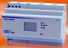 Direct-Connected KWH Meter has max input of 100 A.