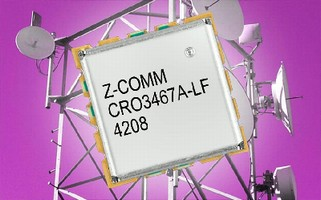 Coaxial Resonator VCO features ultra low phase noise.