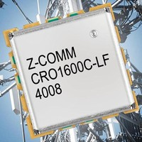 Coaxial Resonator VCO suits low phase noise applications.
