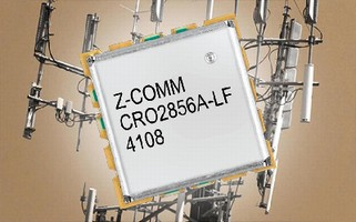 Coaxial Resonator VCO features linear tuning.