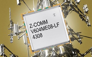 L-Band VCO features low phase noise.