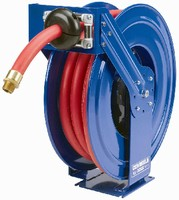 Hose Reels feature spring-motor operated design.