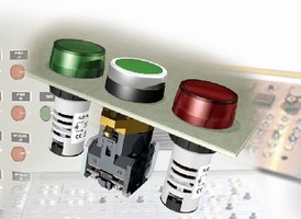 Pushbuttons, Switches, and Pilot Lights can be customized.