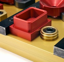 Workpiece Holding Clamps use sharp edges for gripping.
