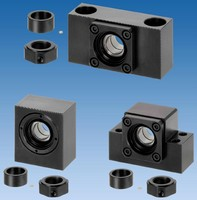 Ball Screw Supports come in compact, fixed-side versions.