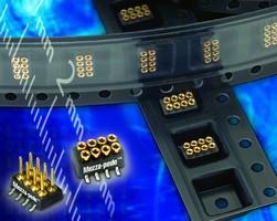 SMT Connectors suit mezzanine boards with low z-axis.