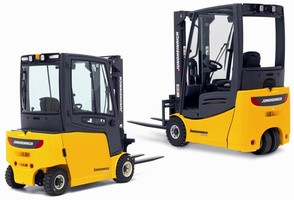 Electric Lift Trucks have counterbalanced design.