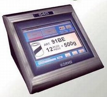 Label Printing System offers touchscreen interface.