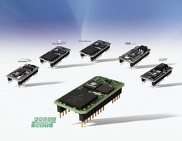 Profinet I/O Interface targets small automation devices.