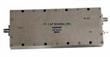 Broadband Driver Amplifier powers various electronics.