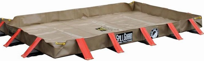 Secondary Containment and Environmental Protection Spillguard Berms and Bridges from Rain for Rent