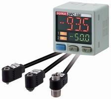 Digital Pressure Sensor employs axial sensor head design.