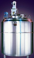 """Custom Manufactured Batch Tanks ....With Product Specific Agitation, From Mixers To Sweep Agitation Options"""