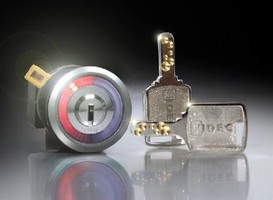 Key Selector Switches feature flush mount design.