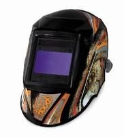 Welding Helmets feature 2 3/8 x 3 7/8 in. viewing area.