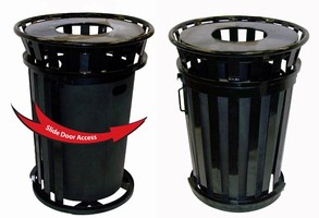 New Ergonomic Waste Bin Makes Maintenance Easy