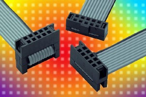 IDC Cable features optional strain relief system.